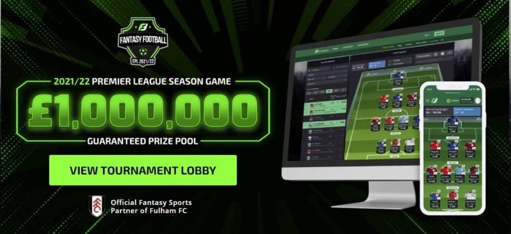 FanTeam Premier League £1,000,000 game