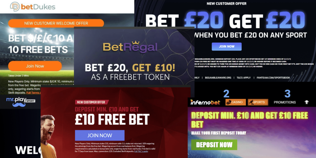 New bookies offers