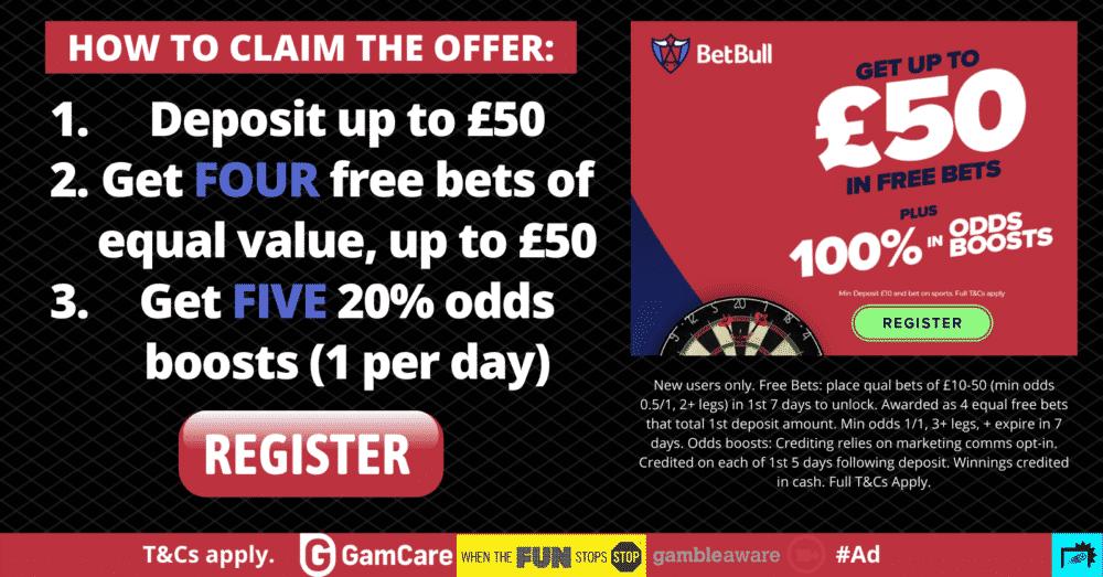 BetBull sign-up offer